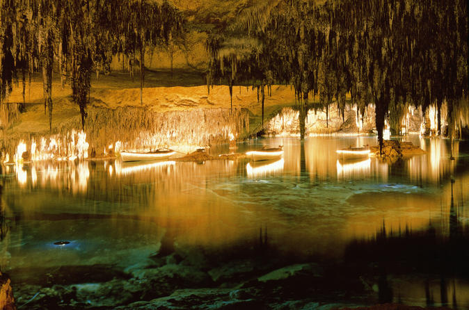 Private Tour: Mallorca Caves of Drach and Majorica Pearl Factory