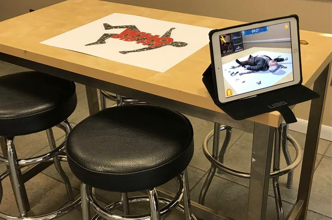 Capital Crime Scene Augmented Reality Mini-Game