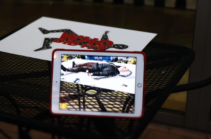 Solve the Crime Augmented Reality Mini-Game