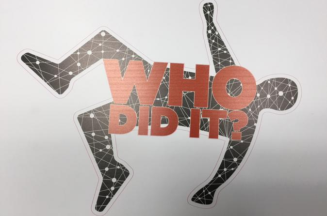 Who Did It Murder Mystery Augmented Reality Mini-Game