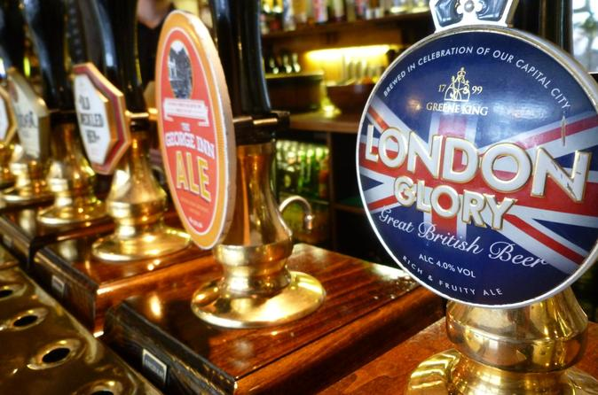 Small-Group Tour: Historical Pub Walking Tour of London