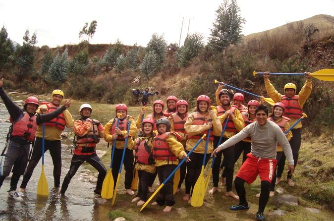 Full Day White-Water Rafting In The Urubamba River (Cusco)