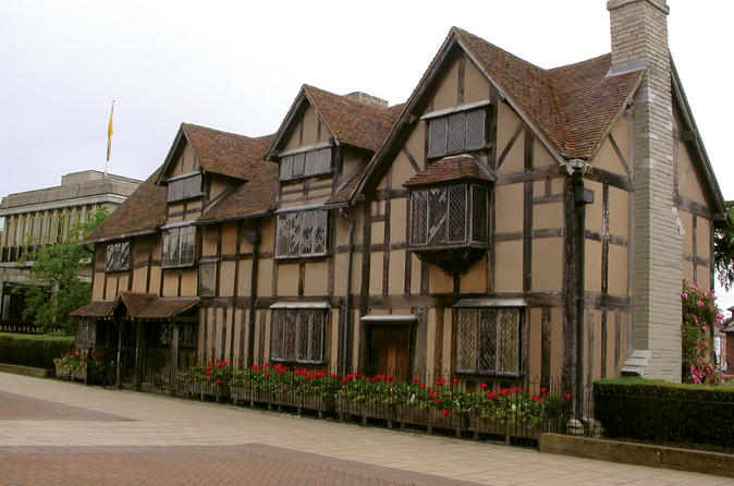 Shakespeare's Stratford-upon-Avon and the Cotswolds from London