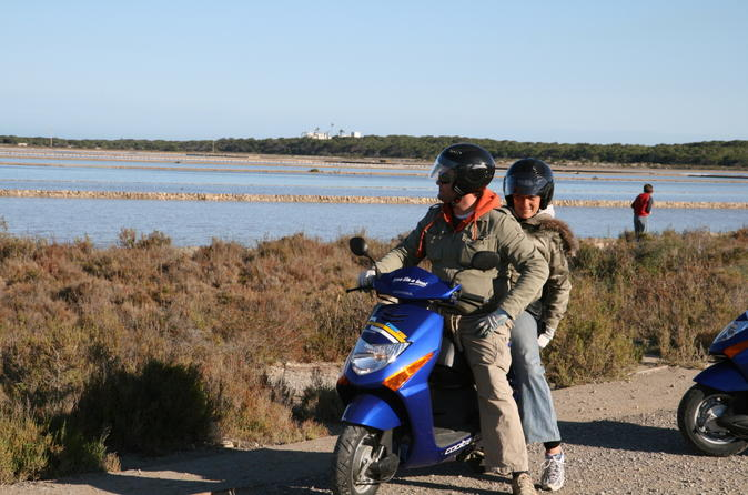 Ibiza independent scooter tour with rental in ibiza 108322