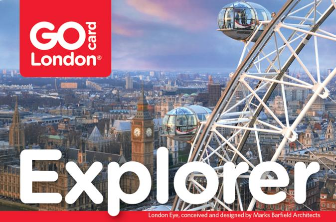 London Explorer Pass Including Entry to London Eye and St. Paul's Cathedral