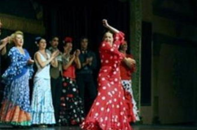 Flamenco in Granada with Panoramic Alhambra with a Japanese Assistant