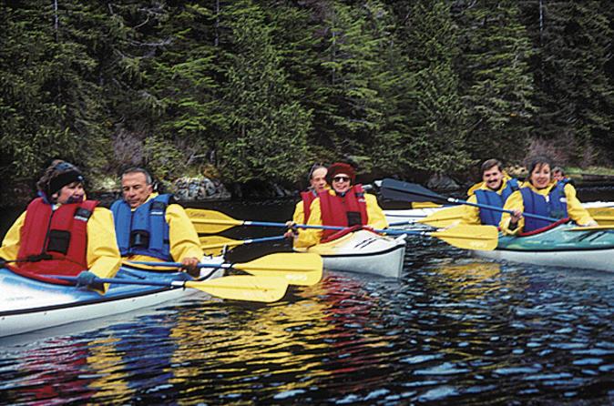Sitka shore excursion sea kayaking adventure in sitka 108514