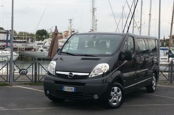 Rome Shared Transfer: Civitavecchia Cruise Port to Fiumicino Airport