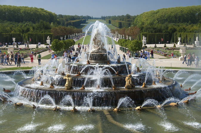entrada a los jardines de versalles espectculo musical de fuentes en verano
