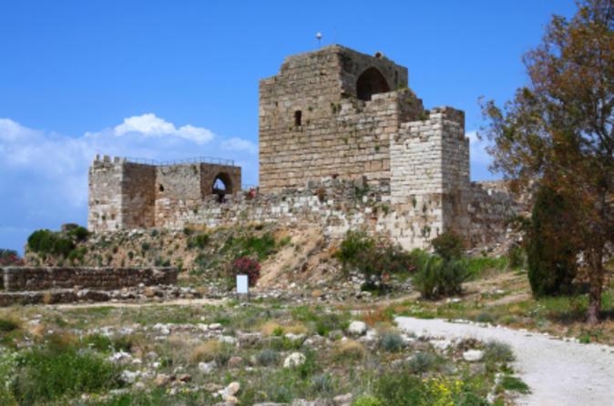 Byblos, Gruta Jeita e Harissa saindo de Beirute