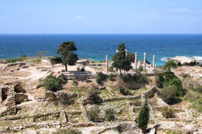 Excursão particular: viagem diurna a Byblos, Gruta Jeita e Harissa saindo de Beirute