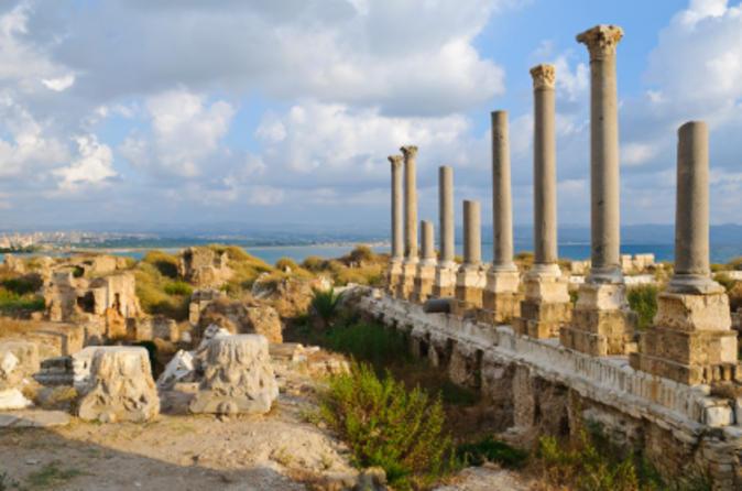 Viagem diurna a Tyre, Sidon e Maghdouche saindo de Beirute