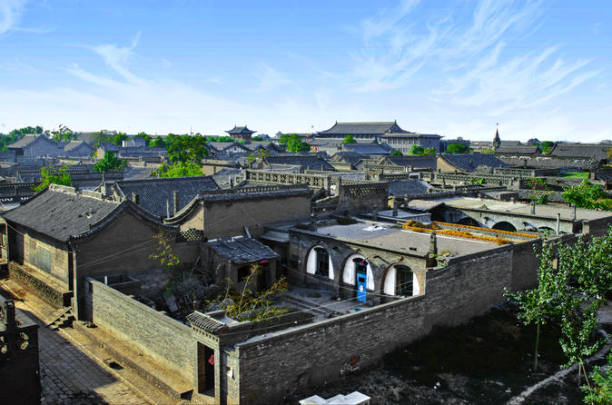 2-Day Pingyao Private Tour: Ancient Town and Shuanglin Temple by High-Speed Train from Xi'an