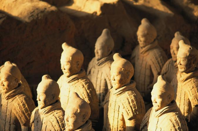 Xi an small group tour terracotta warriors and ancient city wall bike in xian 109812