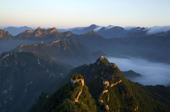 2-Day Great Wall Hiking Tour from Beijing: Jiankou, Mutianyu, Jinshanling and Simatai West