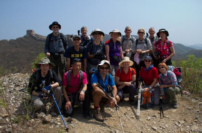 Private Tour: 4-Day Great Wall Hiking and Camping from Beijing