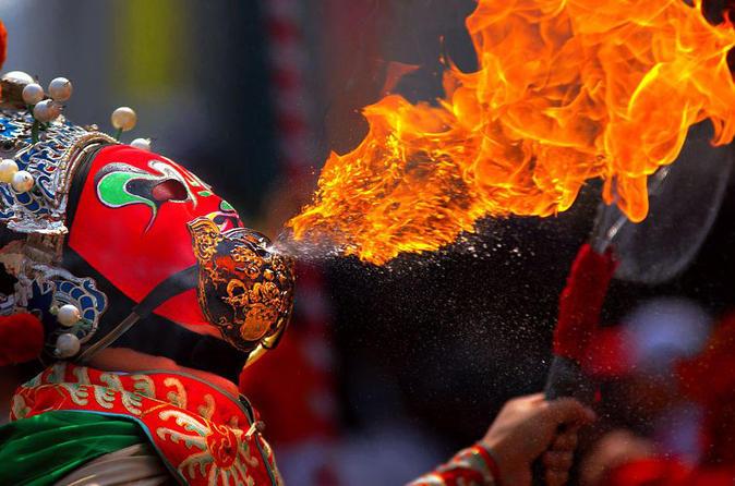 Sichuan culture show and hot pot dinner in chengdu in chengdu 109383