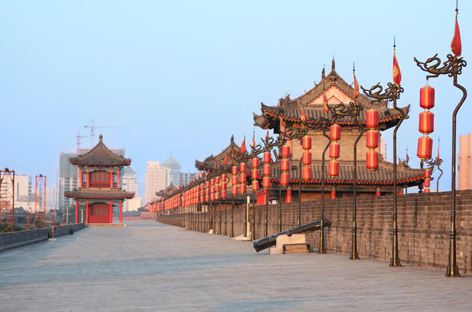 Xi'an in One Day: Terracotta Warriors, City Wall Day Trip from Chengdu by Air