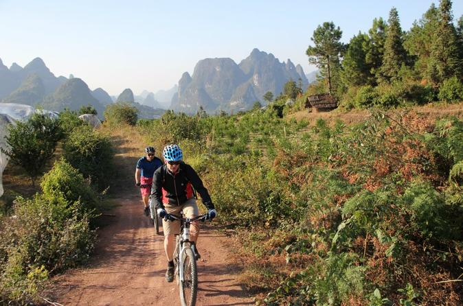 5 day small group yangshuo bike adventure with rock climbing hiking in guilin 119480