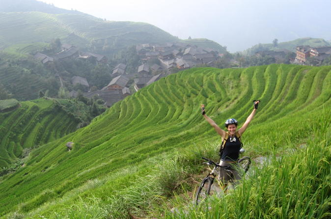 7 day yangshuo bike adventure including longji rice terraces hike and in guilin 111679