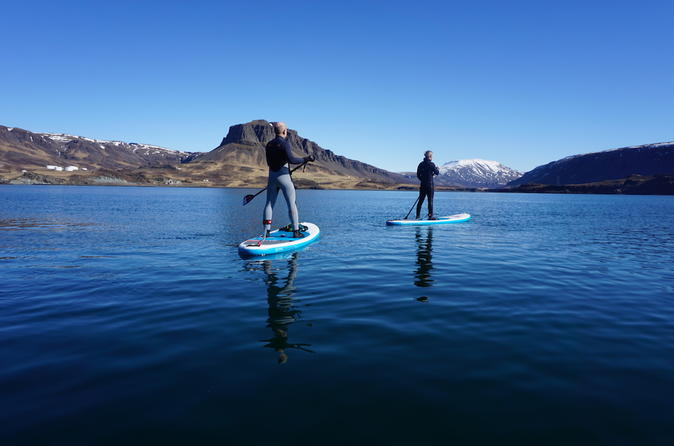 Stand up Paddleboard Tour from Reykjavik - The Forgotten Fjord