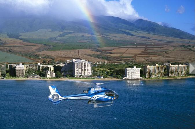 Small group road to hana luxury tour and helicopter flight in maui 115197