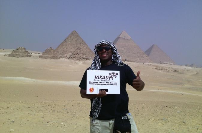 Private Day Trip With Guide To Giza Pyramids Saqqara And Memphis