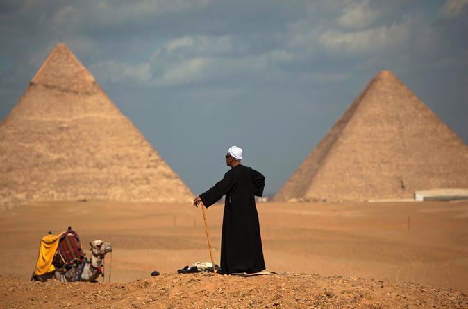 Private Guided Half-Day Trip To Giza Pyramids With Camel-Riding - Cairo