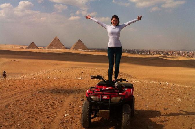 Quad Bike Tour Around Giza Pyramids From Cairo