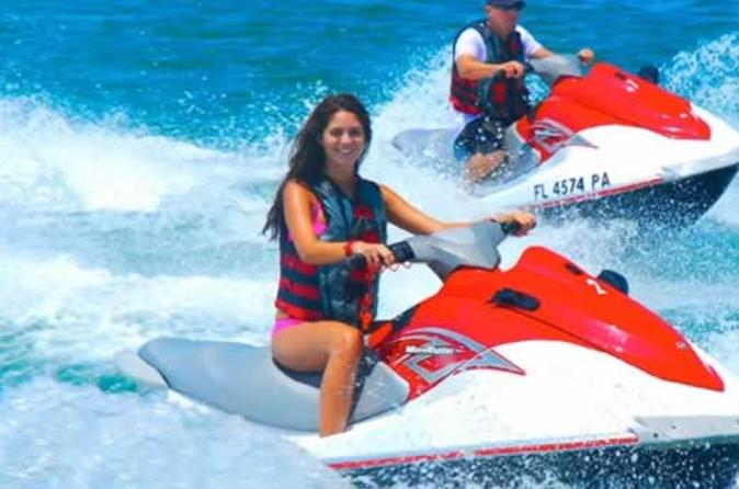 1-Hour Guided Jet Ski Tour from Coconut Grove