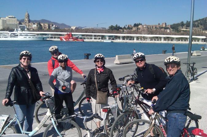 Malaga bike tour in malaga 108861