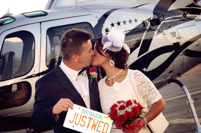crmonie de mariage nocturne en hlicoptre las vegas - Mariage Las Vegas Tout Compris