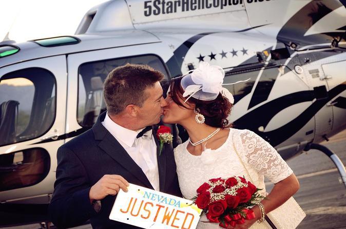 Buy Las Vegas Night Helicopter Wedding Ceremony Limo Transfer 2019