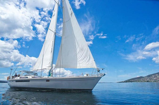 Full day sailing cruise from hobart in hobart 108949