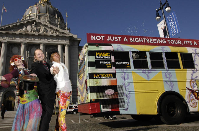 The Summer of Love Magic Bus Experience
