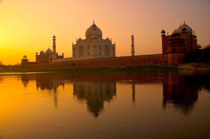 Excursão privativa: Viagem Triângulo Dourado de 4 dias para Agra e Jaipur partindo de Deli