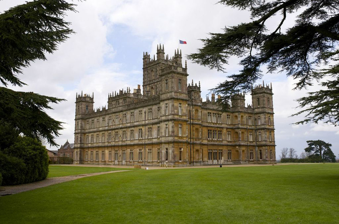Visite de downton abbey et du ch teau de highclere au d part de londres gar - Chateau downton abbey ...