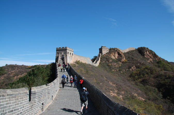 Private Beijing Great Wall,Mountain Glass Skywalk and Lake Tour