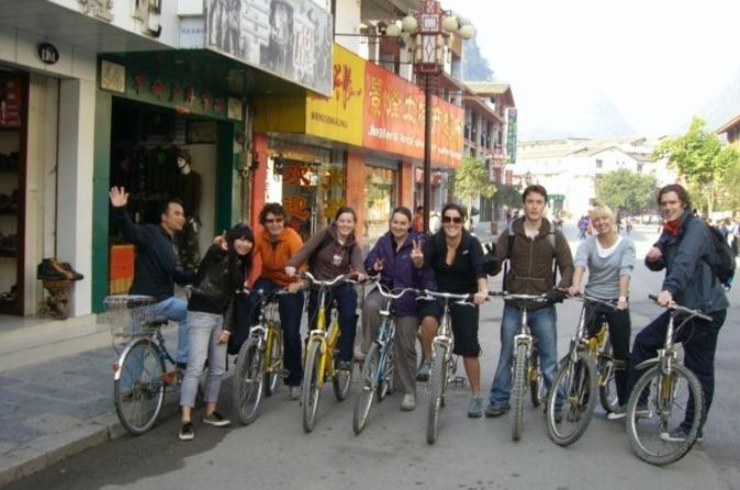 Private tour yangshuo bike adventure including tai chi lesson and in yangshuo 112344