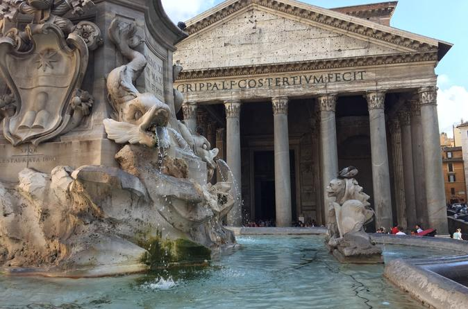Rome: Pantheon Express Guided Tour, and nearby squares and churches (optional)