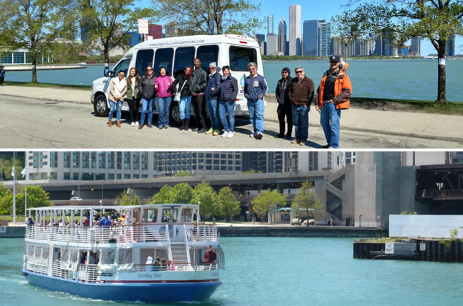 Chicago city tour with optional architecture river cruise in chicago 547903