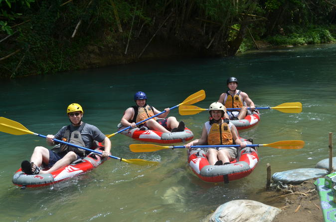 Montego Bay Shore Excursion: Rio Bueno Kayaking Adventure in Jamaica
