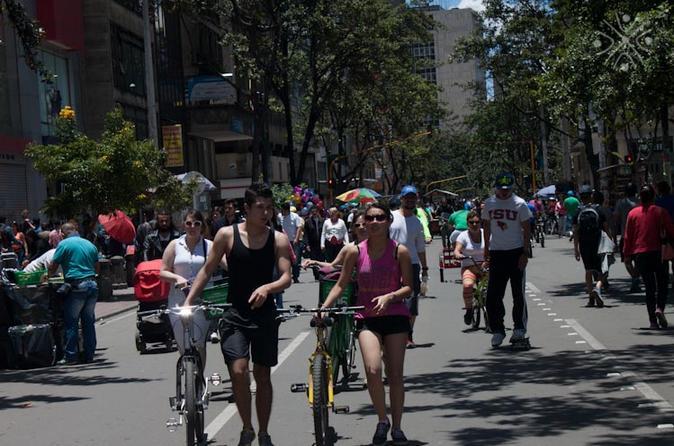 Excursão de bicicleta em Bogotá