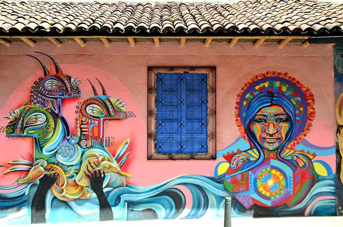 Excursão privada Artes de rua em Bogotá