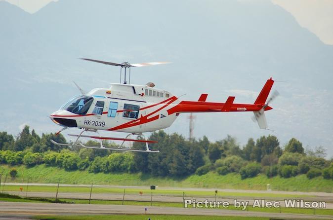 Helicopter Flight Bogotá - Bogota