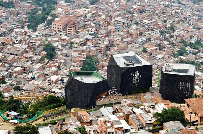Helicopter Flight Medellín