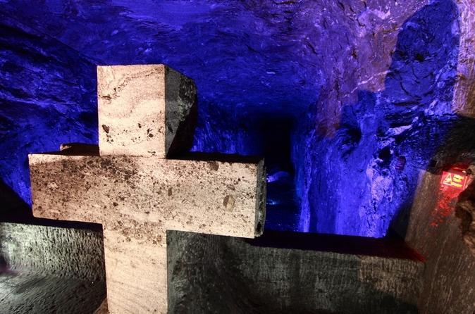 Viagem de um dia até a Catedral de Sal de Zipaquirá e a Lagoa de Guatavita saindo de Bogotá