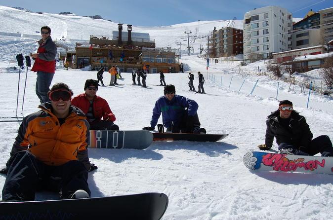 Learning To Ski In La Parva - Santiago