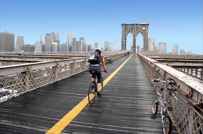 Aluguel de bicicleta em Manhattan e Ponte do Brooklyn