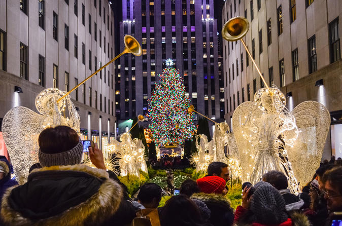 New York Holiday Lights Walking Tour - New York Christmas Hanukkah Holiday Lights Walking Tour 2019 - New